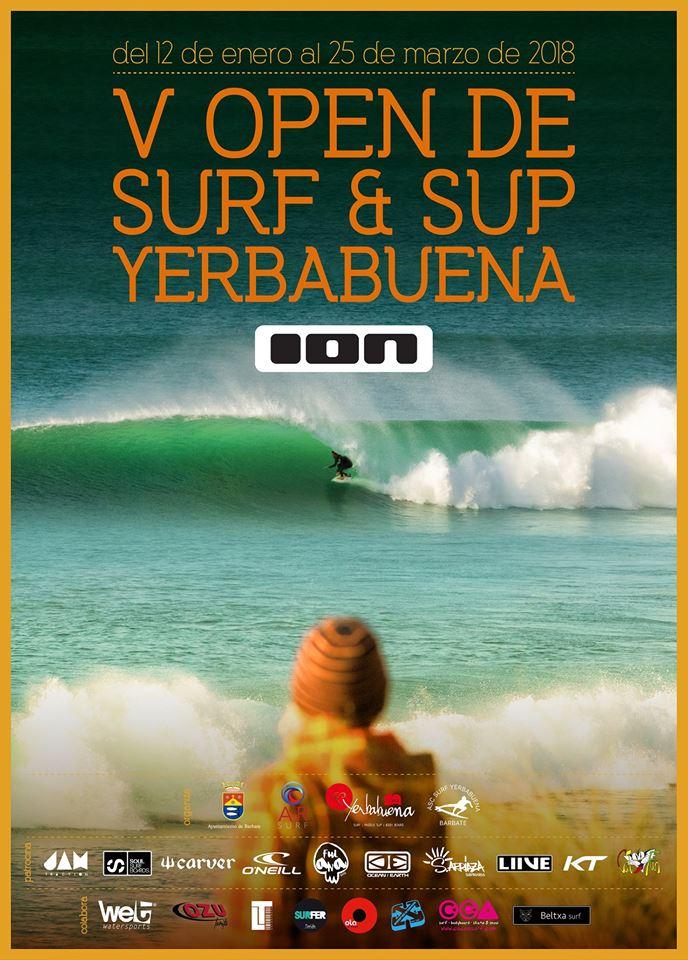 V OPEN DE SURF & SUP PLAYA DE LA YERBABUENA ION 2018. - Tarifa Trip