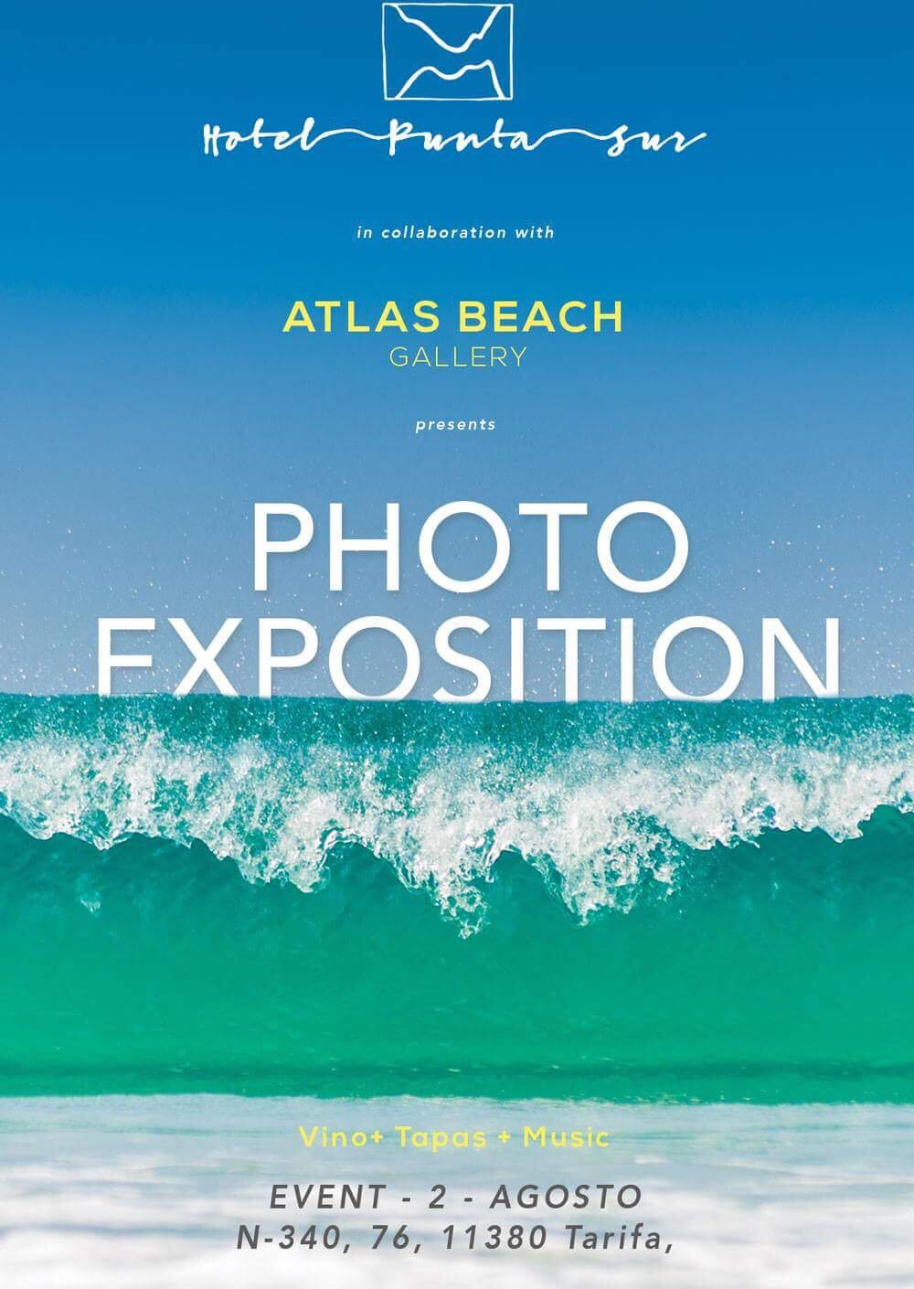 Exposion Fotografica Atlas Beach