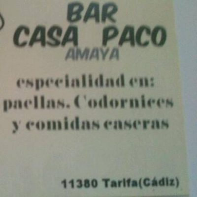 Casa Paco Amaya