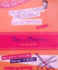 Ven a Mexico