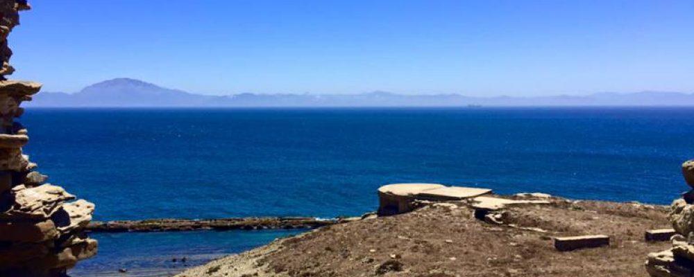 Trekking day around Estrecho de Gibraltar. Tarifa