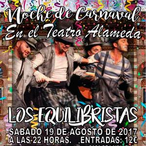 Noche de Carnaval Los Equilibristas Tarifa