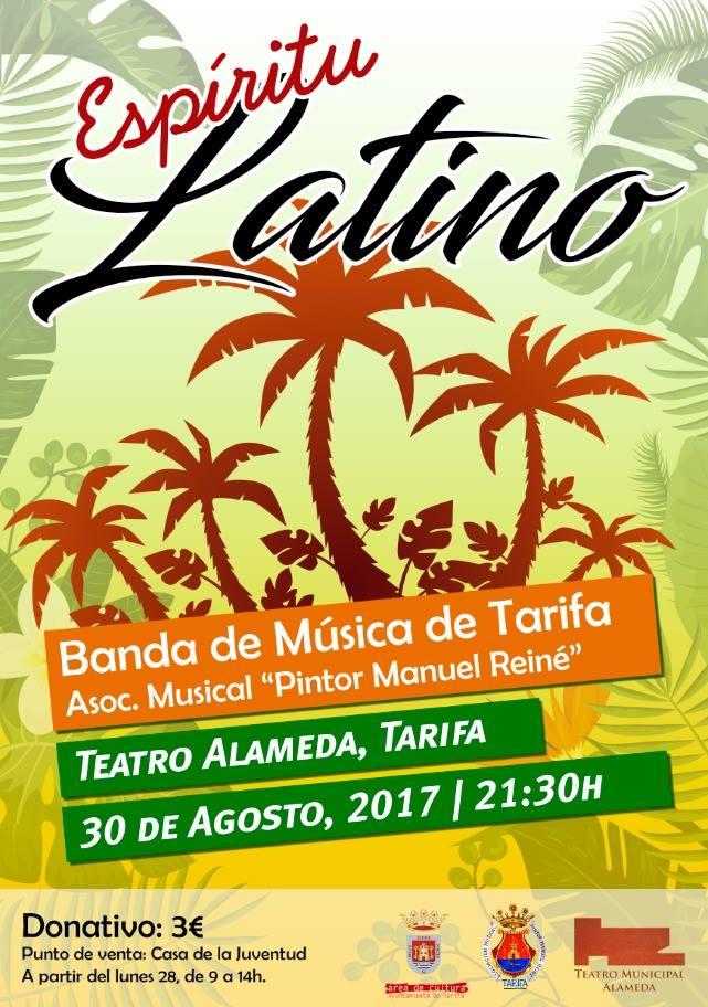 Concierto Espíritu Latino Banda Municipal Tarifa