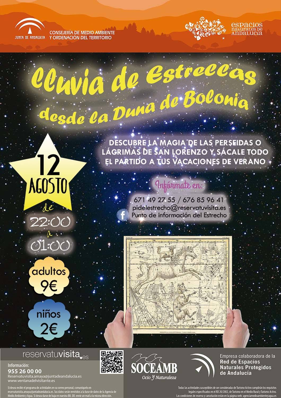 Lluvia de Estrellas Duna de Bolonia Tarifa