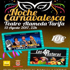 Noche Carnavalesca Tarifa Teatro Municipal Alameda