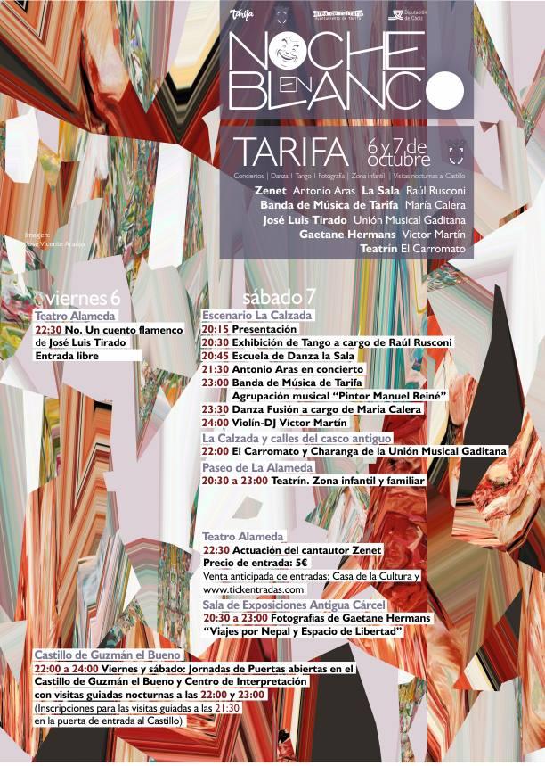 Noche en Blanco Tarifa 2017