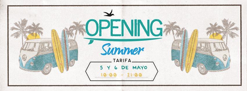 Opening Summer Tarifa 2018