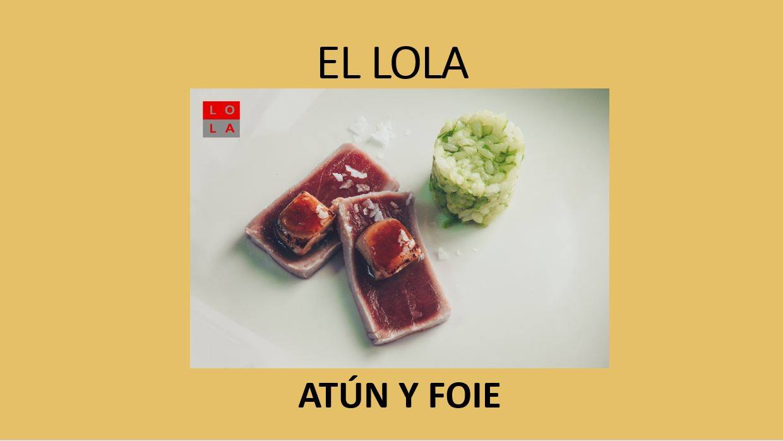 Tapa El Lola Ruta del Atún Tarifa 2019