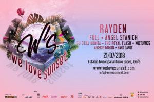 We Love Sunset Tarifa Rayden Festival