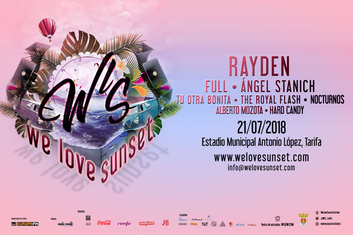 We Love Sunset Tarifa Rayden Festival